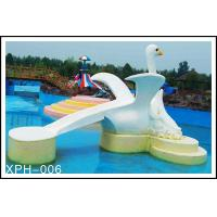 China Commercial Fiberglass Water Pool Slides with Interesting Cartoon Shaped wholesale