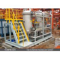 China Double Drum Type Automatic Back Washing Filter system with platform wholesale