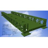 China Corrosion Resistance Modular Steel Bridges TS Triple Single Type Bailey Bridge wholesale
