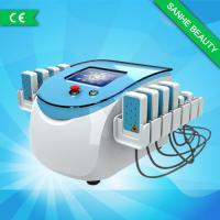 China Low Frequency Massage Lipo Laser Slimming Machine For Body , Skin Tightening System on sale