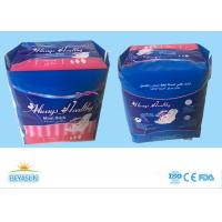 Buy cheap Healthy Safe Ladies Sanitary Napkins Super Absorption For Day Use , Logo Custom from wholesalers