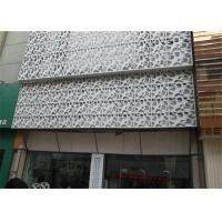 China Interior / Exterior Facade Aluminum Decorative Panels Carved Weather Resistance wholesale