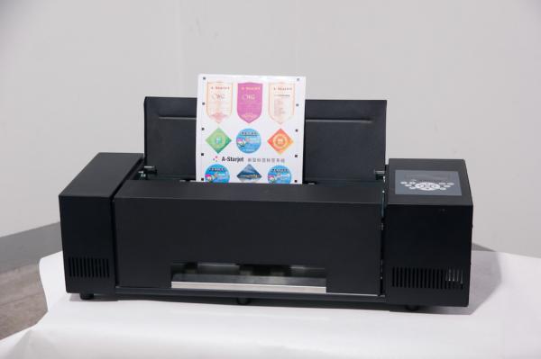 sticker printer and cutter machine
