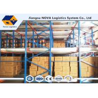 China 60m Depth Shuttle Pallet Racking High Density For Cold Operation Storage wholesale