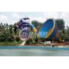 China Anti associação UV exterior da corrediça de água do furacão com altura de aço inoxidável do parafuso 13.5m wholesale