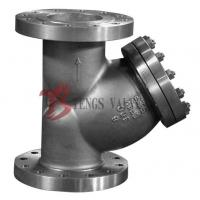 China A351 CF8M 300LB Y Type Strainer , Stainless Steel Y Strainer Flange Type wholesale