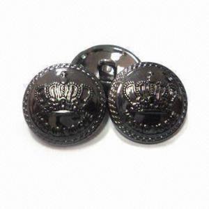 China O metal liga de zinco abotoa, mede 15mm, projetos personalizados e os logotipos são aceitados wholesale