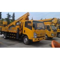 China Platforms Boom Lift Truck 85kw For Aerial Work With JX493ZLQ3 Engine wholesale