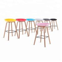 China Colored Wooden Dining Chairs , Fashionable Royal Plastic Chairs wholesale