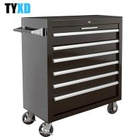China Heavy Duty Workshop Use Metal Tool Box With Six Extra Large Lockable Drawers wholesale