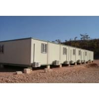 China Water Proof Steel Storage Container Houses , Flat Pack Steel Containers on sale