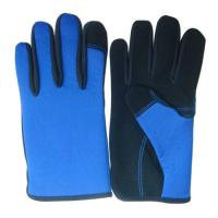 China OEM High Quality Work Mechanic Gloves Shockproof Cheap Work Gloves on sale