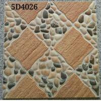 China Antique Style 400x400 Floor Tiles Ceramic Exterior Courtyard  Differnt Patterned wholesale