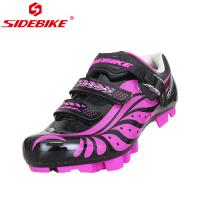 China TPU Womens MTB Cycling Shoes Geometry Design Body High Pressure Resistance wholesale