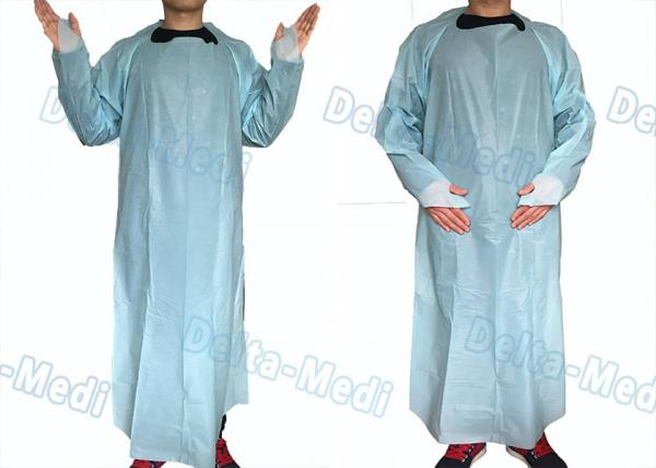Quality Environmental CPE Disposable Plastic Aprons , Disposable Medical Aprons For Testing for sale