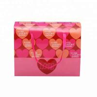 China Corrugated Board Paper Food Packaging Recyclable ECO Material With Heart Pattern wholesale