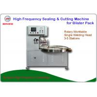 China HF Welding Rotary Blister Packing Machine 27.12 MHz For Double Plastic Film Welding wholesale