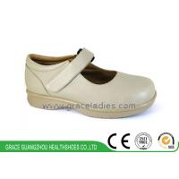 China Genuine Leather Mens Wide Therapeutic Shoes Comfort Shoes Rheumatoid Shoes Work Shoes wholesale
