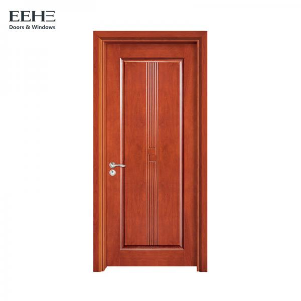 Quality Commercial Dampproof Hollow Core Timber Door With High Stable Performance for sale