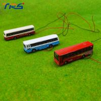 China 1:150 model bus Toy Metal Alloy Diecast bus Model Miniature Scale model for train layout scenery on sale