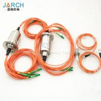 China 360° Rotating Fiber Optic Rotary Joint Eight Channels With 850-1650nm Wavelength wholesale