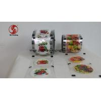 China Laminated Printed Heat Sealing Plastic Sheeting For Paper And Plastic Cups on sale