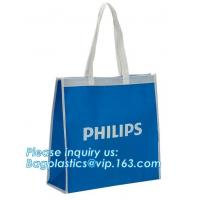 China New product factory custom OEM free sample Shopping bag two sides PU printing non woven bag grocery non woven bag with l on sale