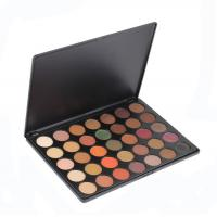 China Wholesale Eye Makeup Eyeshadow , 35 Color Nature Glow Eyeshadow Palette With High Pigment wholesale