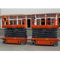 China Small Electric Scissor Lift Aerial Work Platform Working Height 10M wholesale