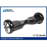 China Black And White Electric Self Balancing Scooter Board With 25 Degree Climbing Gradient wholesale