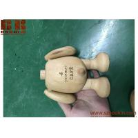 China Home Furnishing Decorative Ornament wooden Bear Christmas gift for Agnes B in France wholesale