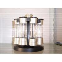 China Elite Carousel 8 Jars Spice Rack - Spice Bottle (HP5315) wholesale