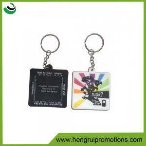 High quality soft pvc T-shirt keychain