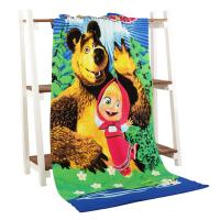 Newest Animation Promotional Velour cotton Beach Towel for Children Swimming