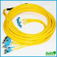 CATV System Fiber Optic Patch Cables With PC / UPC / APC Connectors