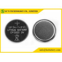 China CR2032 Lithium Button Cell Lithium Coin Cell Battery 3.0V 210mah Capacity on sale