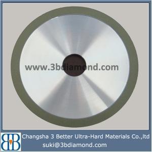 China Hunan 4A2 resin bonded diamond grinding wheels for carbide wholesale