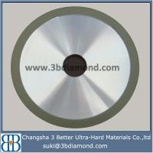 China Hunan 4A2 resin bonded diamond grinding wheels for carbide profile grinding wholesale