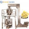 China Potato Chips 3 Kw Automatic Food Packing Machine 1800*1250*1780mm wholesale