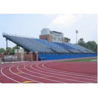 Long Life Aluminum Stadium Seats Telescopic Seating Systems Wide Flange Steel Shapes