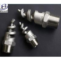 China 316SS Full Cone / Hollow Cone Spiral Nozzle , Spray Nozzle For Cooling Tower wholesale