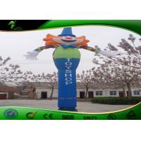 China Oxford Cute 20ft Inflatable Air Dancers With One Leg Advertising Dancing Man on sale