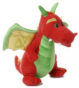 Red Winged Dino Dragon Plush Toys