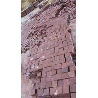 China Wholesale Red Porphyry Granite Paving Stone on sale