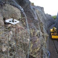 China TECCO Mesh Rockfall Barrier Mesh / Slope Stabilisation wholesale