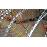 China Custom Security Single Coiled Razor Wire High Protection Neat Appearance wholesale