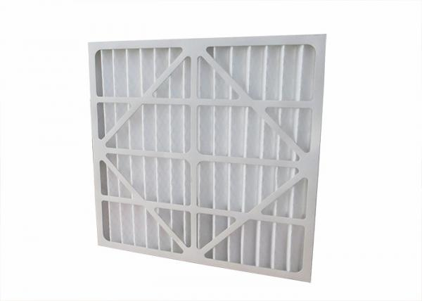 Quality 24x12x1 House Vent Filters G3 G4 Paper Frame Large Dust Holding Capacity for sale