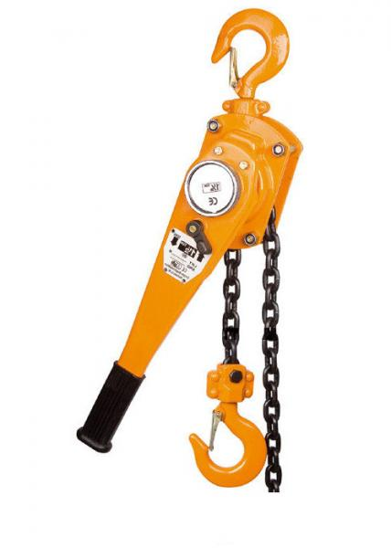 Quality 1.5m Lifting Height Manual Chain Lever Hoist , Capacity 0.75T To 6T for sale