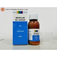 China Point d'ébullition oral de la médecine 60ml de suspension d'amoxicilline antibiotique occidentale de Medicin. /100ml bactéries sensibles wholesale