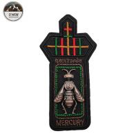 China Bumble Bee 3D Custom Made Embroidered Patches Simple Style For Uniform wholesale